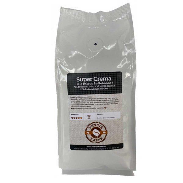 super crema ristede kaffebønner