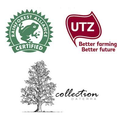 logo samling daterra sweet collection