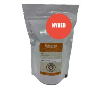 Friskristet Etiopien Yirgacheffe kaffe